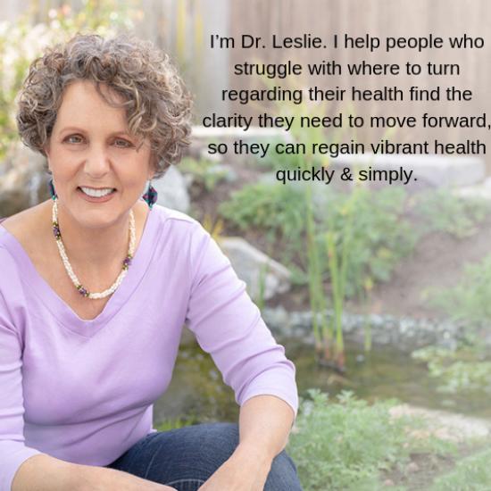 I'm Dr. Leslie.